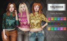 KiB Designs - Sanaa Sweater FATPACK