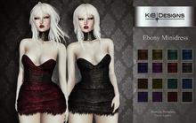 KiB Designs - Ebony Minidress DEMO