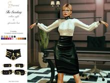 S&P Secretary collar & cuffs (wear to unpack)