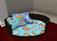 Dog Bed basket only 4 prim
