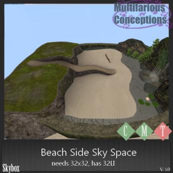 [MC] Beach Side Sky Space 32LI 32x32  [add me]