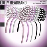 Tooty Fruity - Lolly Headband 1L$