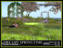 TMG - DREAMY SPRINGTIME* Landscaped Garden with 3 ponds and 99 Animations