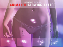 Animated  Glowing Tattoo - Hearts (Fatpack) (Maitreya, Legacy F)