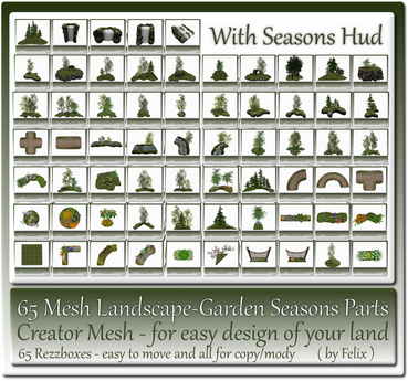 65 Mesh Landscape-Garden Seasons(Hud) Parts by Felix copy-mody