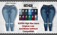 :: Miss Canning :  [ KUPRA High Rise Jeans ]