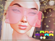 #187# Luxe Glasses