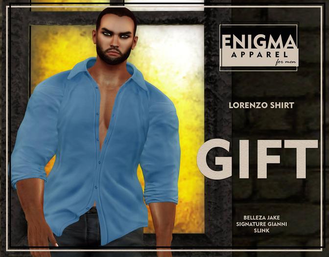 [EN] Lorenzo Shirt - Gift