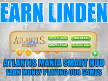 AtlantisMania Smart HUD v1.0 - EARN LINDEN