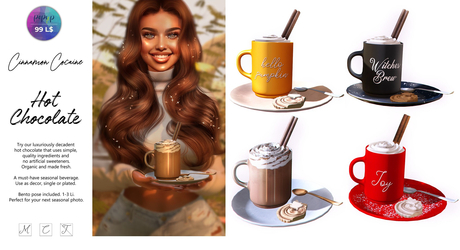 [Cinnamon Cocaine ] Hot Chocolate Pack