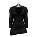 Little Fox - Maddie sweater dress // black