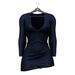 Little Fox - Maddie sweater dress // cobalt
