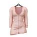Little Fox - Maddie sweater dress // nude