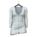 Little Fox - Maddie sweater dress // white