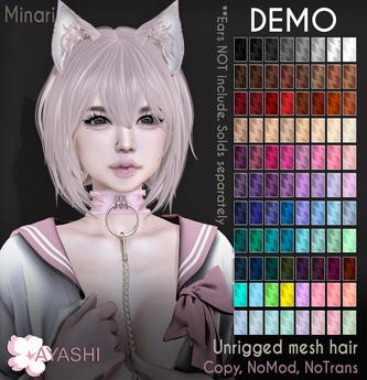 [^.^Ayashi^.^] Minari hair-DEMO