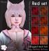 [^.^Ayashi^.^] Minari hair-Red set