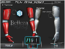 N.Vk Arms implant  -Shu Mesh-