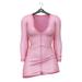 Little Fox - Maddie sweater dress // pink