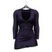 Little Fox - Maddie sweater dress // plum