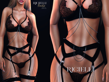 Ricielli - Amelie Lingerie Black Promotion