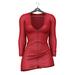 Little Fox - Maddie sweater dress // red