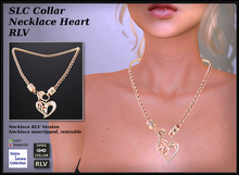 SLC Collar Necklace Heart (unpacked)