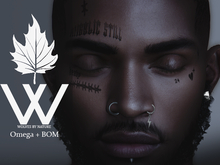 WBN ' HEAVY-TD Face Tattoo