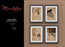 Moonley Inc. - Folklore Frame Set 3