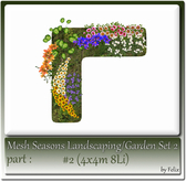 Mesh Landscape-Garden Seasons(Hud) Part #2 (4x4m 8Li)