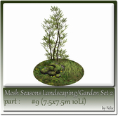 Mesh Landscape-Garden Seasons(Hud) Part #9 (7.5x7.5m 10Li)