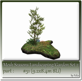 Mesh Landscape-Garden Seasons(Hud) Part #51 (9.2x8.4m 8Li)