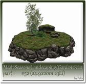 Mesh Landscape-Garden Seasons(Hud) Part #52 (24.9x20m 23Li)