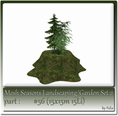 Mesh Landscape-Garden Seasons(Hud) Part #56 (15x15m 15Li)