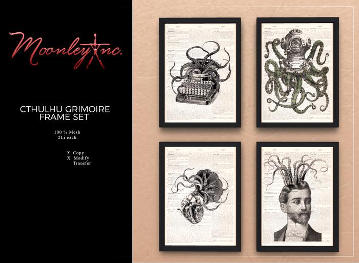 Moonley Inc. - Cthulhu Grimoire Frame Set