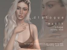 DIALOGUE MARTY shape for Lelutka Zora 2.5