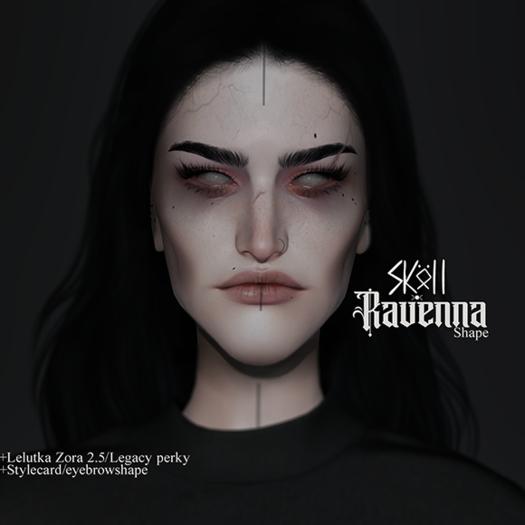 Sköll -Ravenna shape //Lelutka Zora 2.5(Boundless version)