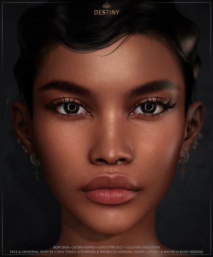 Nuve. Destiny skin - Lelutka Evolution DEMO