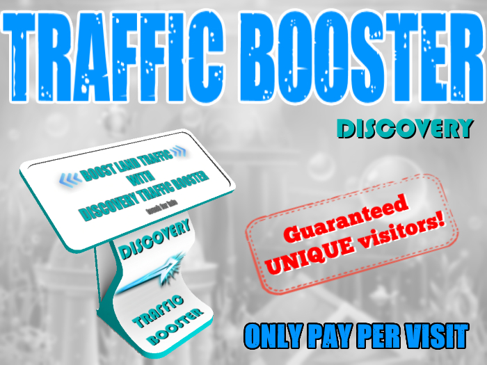 Discovery Traffic Booster - Boost your land TRAFFIC
