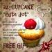 *az*1prim cupcake gift(cute dot)