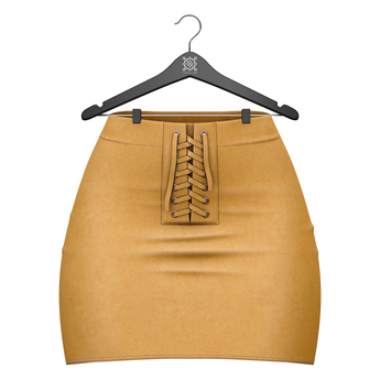 Little Fox - Jennie suede skirt // mustard