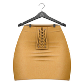 Little Fox - Jennie suede skirt // mustard