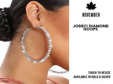 Nov-Jodeci Diamond Hoops II (S)