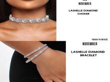 Nov-LaShelle Diamond Bracelets (S)