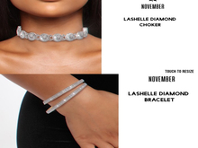Nov-LaShelle Diamond Choker (S)