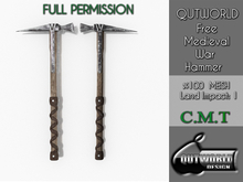 .::QUTWORLD FREE Medieval War Hammer::.FP