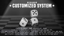 HEXAGON universal system - create your custom game