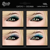 Kyoot Makeup - Cateyes I - Oceania