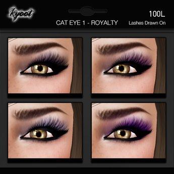 Kyoot Makeup - Cateyes I - Royalty