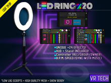 VR-TECH LED Ring x20