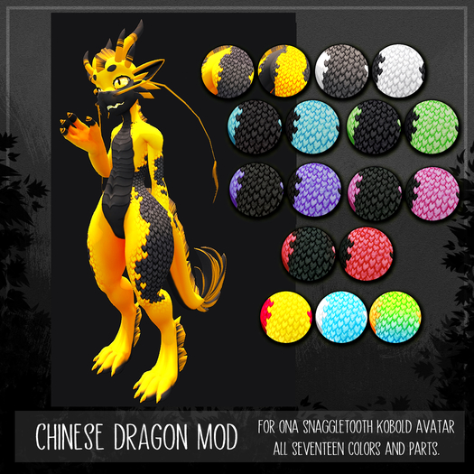 [TJR] All the Chinese Kobold Mods